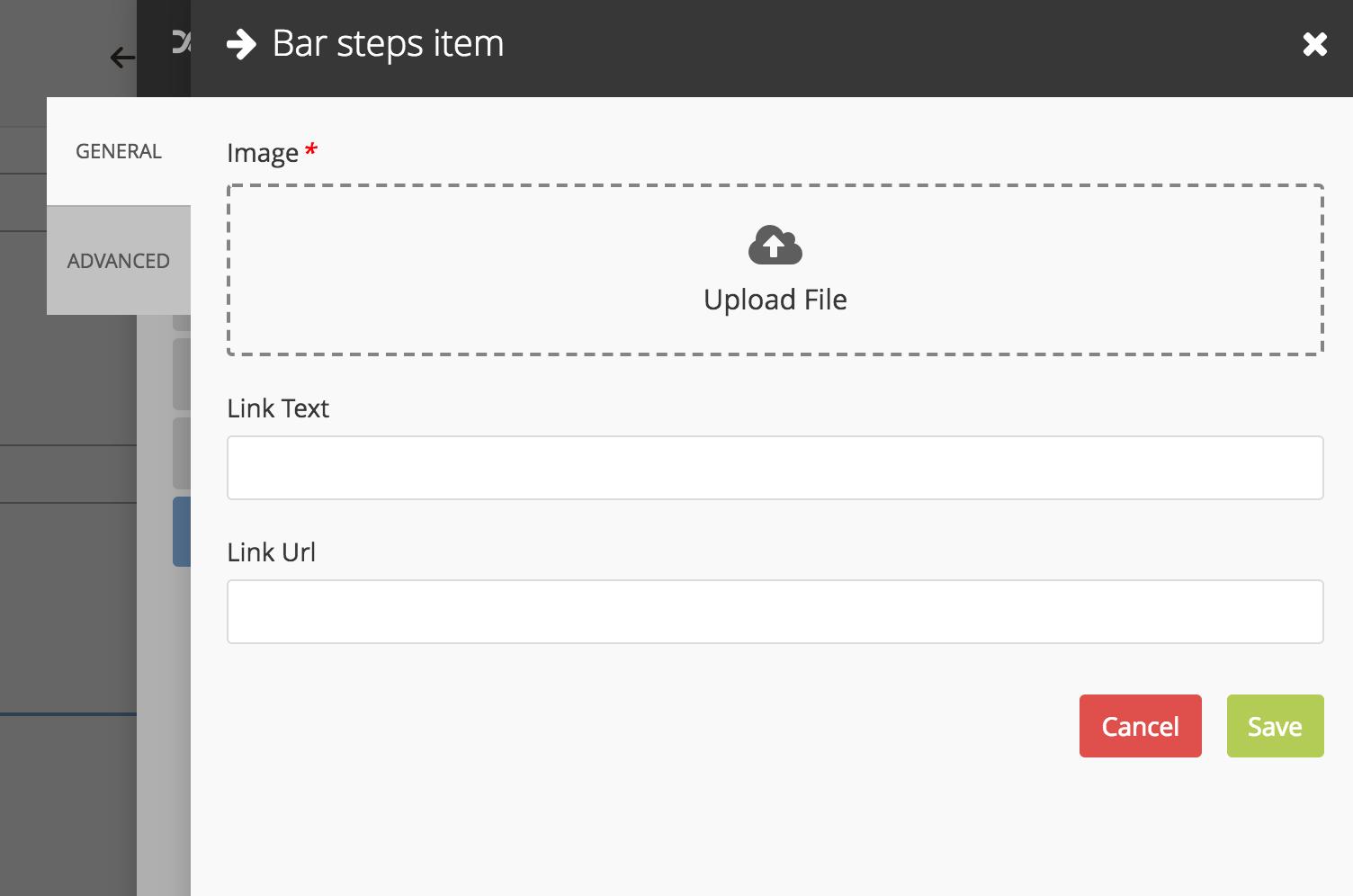 Bar Steps item