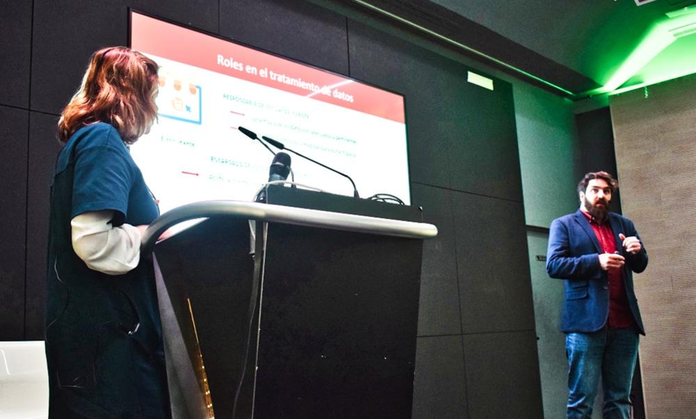 ponencia de Sales Manago sobre MeetupGDPR
